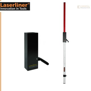 Laserliner Flexilatte Flexi-Messlatte Plus rot