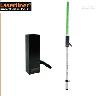 Laserliner Flexilatte Flexi-Messlatte Plus grün